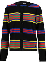 Love Moschino Striped Wool Cardigan