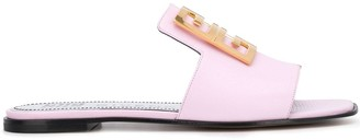 Givenchy 4G leather sandals