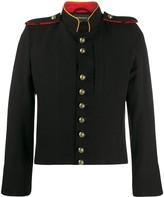 Ann Demeulemeester button detail jacket