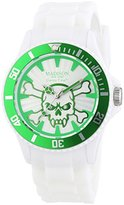 Madison New York Candy Unisex Watch Quartz Analogue Time Stay Alive 4618–10 U Silicone
