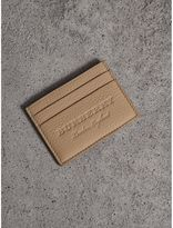 Burberry Textured Leather Card Case