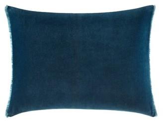 Vera Wang Blurr Velvet Lumbar Pillow