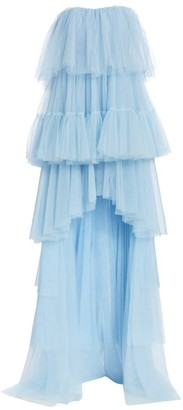 Cinq à Sept Kiara Tiered High-Low Dress