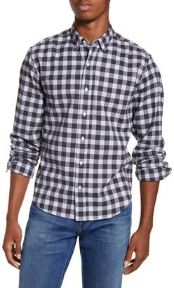 Frank And Eileen Finbar Regular Fit Check Flannel Button-Up Sport Shirt