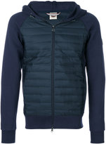 Colmar panelled hooded jacket