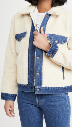 Levi's Ex Boyfriend Pieced Trucker Jacket