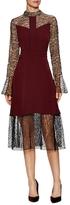 Prabal Gurung Mixed Media A Line Dress