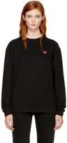 McQ Black Swallow Badge Sweatshirt