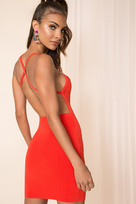 superdown Barbara Open Back Dress