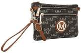 Mkf Collection By Mia K. MKF Collection by Mia K. Women's Wristlets Brown - Brown Cherry M Signature Convertible Crossbody Wristlet