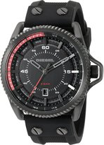 Diesel Men's 'Rollcage' Quartz Stainless Steel and Silicone Automatic Watch, Color: (Model: DZ1760)