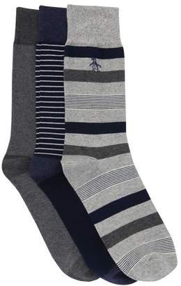 Original Penguin Crew Socks - Pack of 3