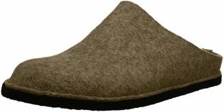 Haflinger Flair Soft Unisex Adult Unlined Slippers Beige (Beige (550 peat)