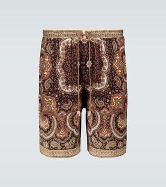Nanushka Doxxi paisley shorts