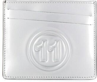 Maison Margiela Metallic Logo Cardholder