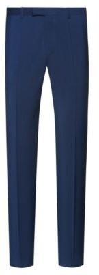 HUGO Regular-fit trousers in virgin-wool poplin