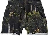 Munster Coconut Palm-Print Cotton Shorts