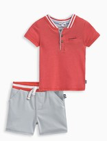 Splendid Baby Boy Henley and Short Set