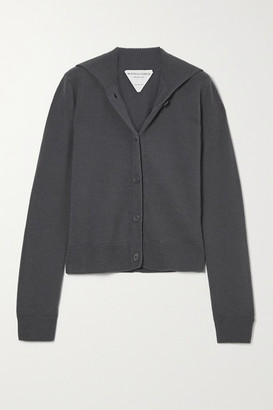 Bottega Veneta Wool Cardigan - Gray