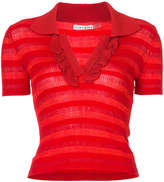 Alice + Olivia Alice+Olivia striped polo shirt
