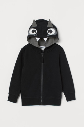 H&M Hooded jacket with a motif