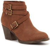 Rocket Dog Seon Faux Leather Buckle Boot