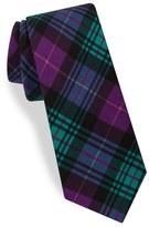 Ted Baker Plaid Silk Skinny Tie