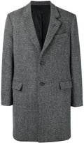 Ami Alexandre Mattiussi two button coat - men - Other fibres/Virgin Wool/Polyimide - 46