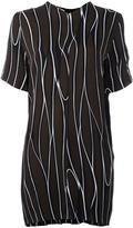 Marni Trellis printed tunic - women - Silk/Viscose - 40