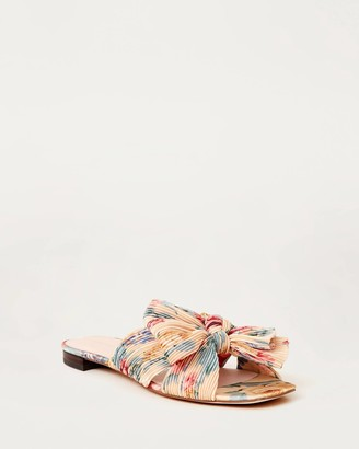 Loeffler Randall Daphne Knot Flat Sandal Floral