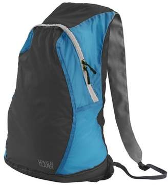 Lewis N. Clark ElectroLight Backpack, Charcoal/Bright Blue