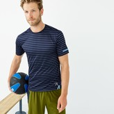 J.Crew New Balance® for cooling workout T-shirt in stripe