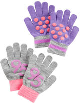 Osh Kosh 2-Pack Polka Dot Gloves