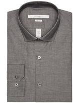 Perry Ellis Very Slim Solid Dobby Dot Dress Shirt