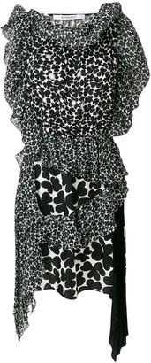 Givenchy asymmetric patterned dress