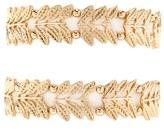 Forever 21 FOREVER 21+ Leaf Stretch Bracelet Set