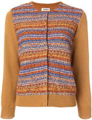 Coohem autumn mix tweed cardigan