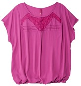 Pur Pure Energy Women's Plus-Size Short-Sleeve Lace Top - Assorted Colors