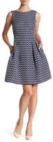 Donna Ricco Fit & Flare Dress