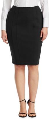 Ashley Graham X Marina Rinaldi Ocraceo Pencil Skirt