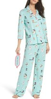 PJ Salvage Women's Playful Print Pajamas & Eye Mask