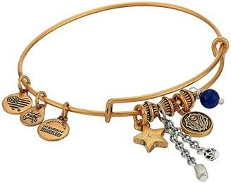 Alex and Ani Godspeed Cluster Bangle, Two-Tone (Rafaelian Gold) Bracelet