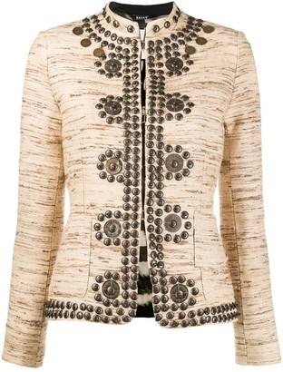Bazar Deluxe Jacquard Embellished Jacket