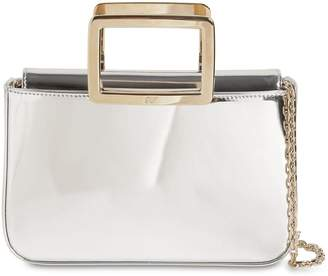 Roger Vivier Joie De Vivier Mini Mirrored Leather Bag