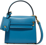 Valentino My Rockstud Micro Leather Shoulder Bag - Bright blue