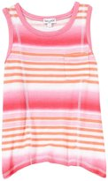 Splendid Ombre Print Stripe Top (Toddler/Kid) - Hot Pink-5/6