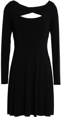 Bailey 44 Cutout Stretch-modal Jersey Mini Dress