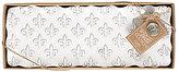 Mud Pie France Collection Fleur de Lis Terracotta Hostess Platter