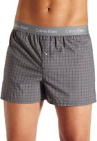 Calvin Klein Men's Matrix Boxer Woven Slim Fit