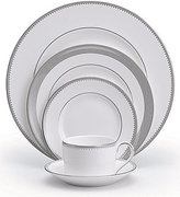 Vera Wang by Wedgwood Grosgrain Striped & Dotted Bone China 5-Piece Place Setting